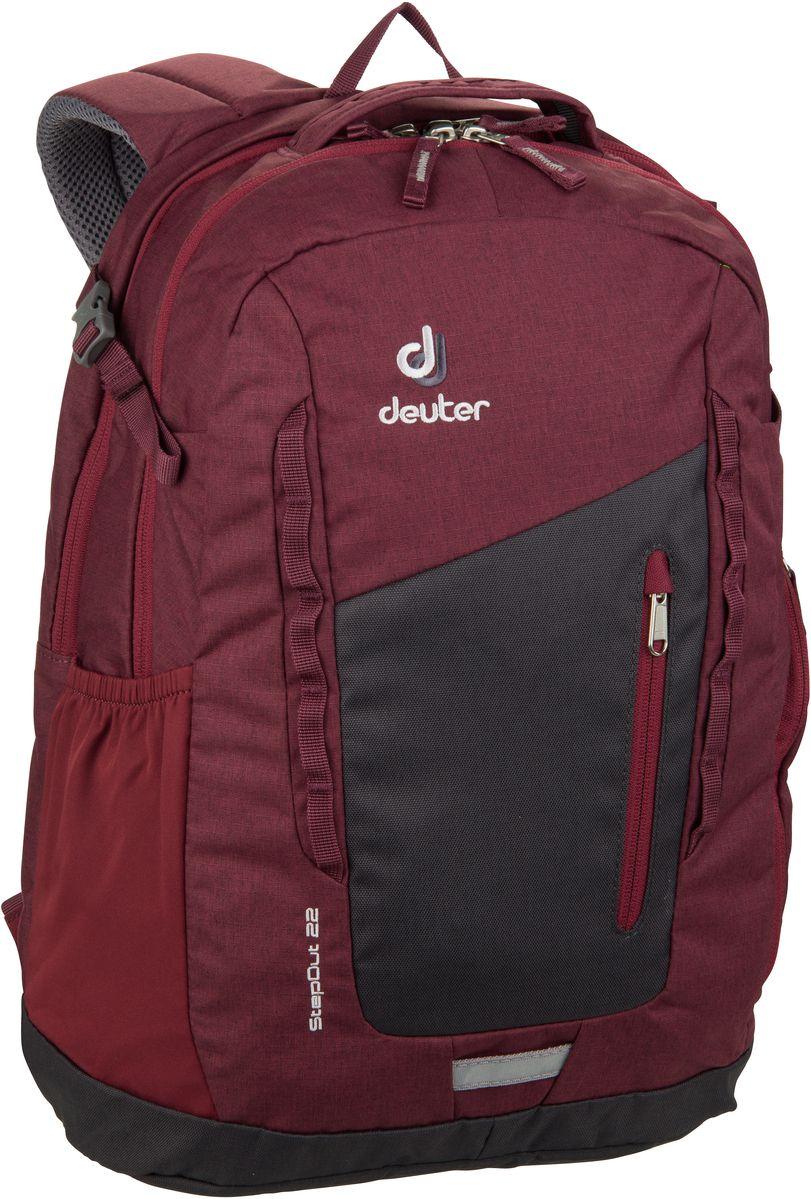 Rucksack / Daypack Step Out 22 Graphite/Maron (22 Liter)