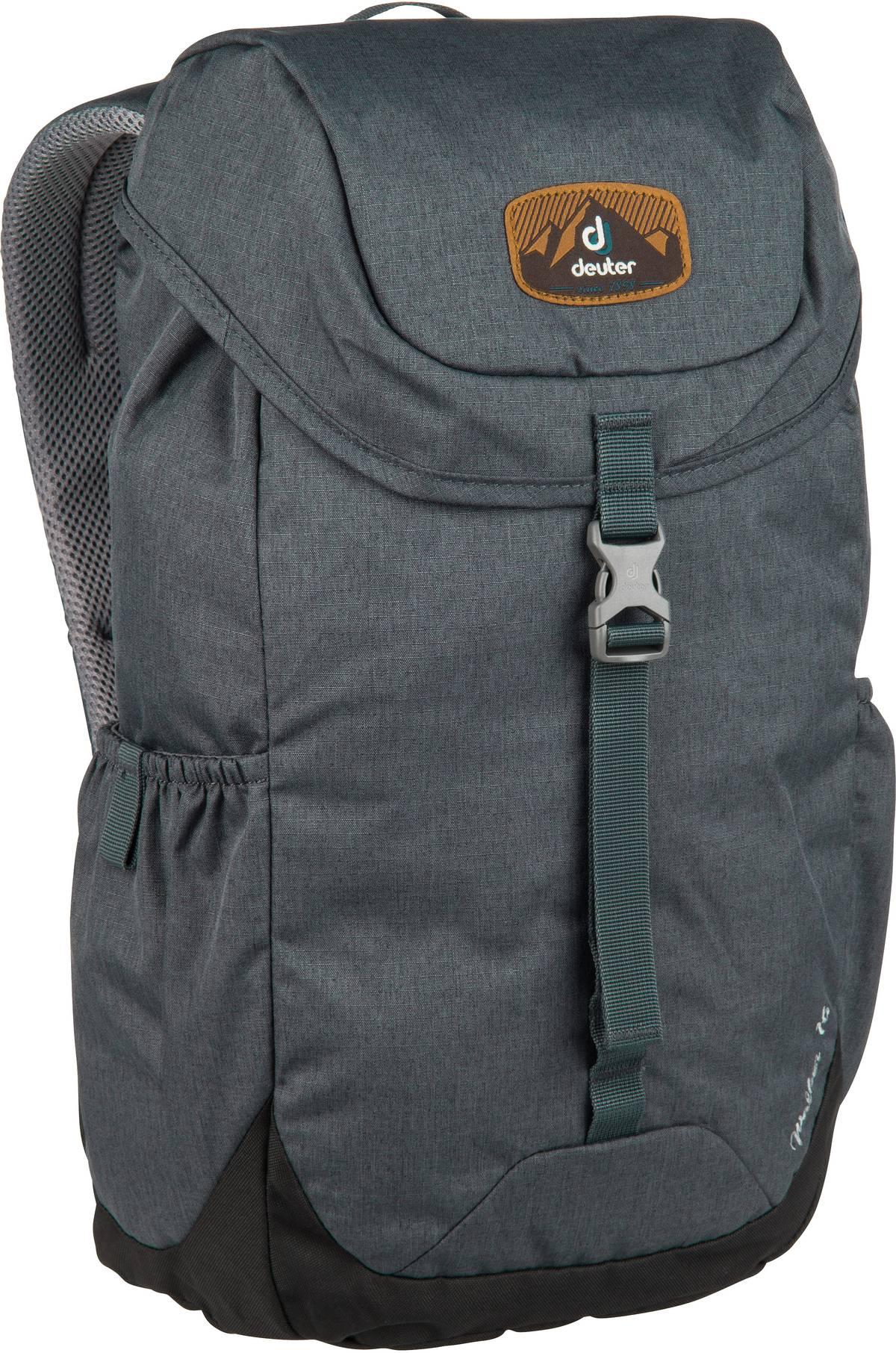 Rucksack / Daypack Walker 16 Graphite/Black (16 Liter)