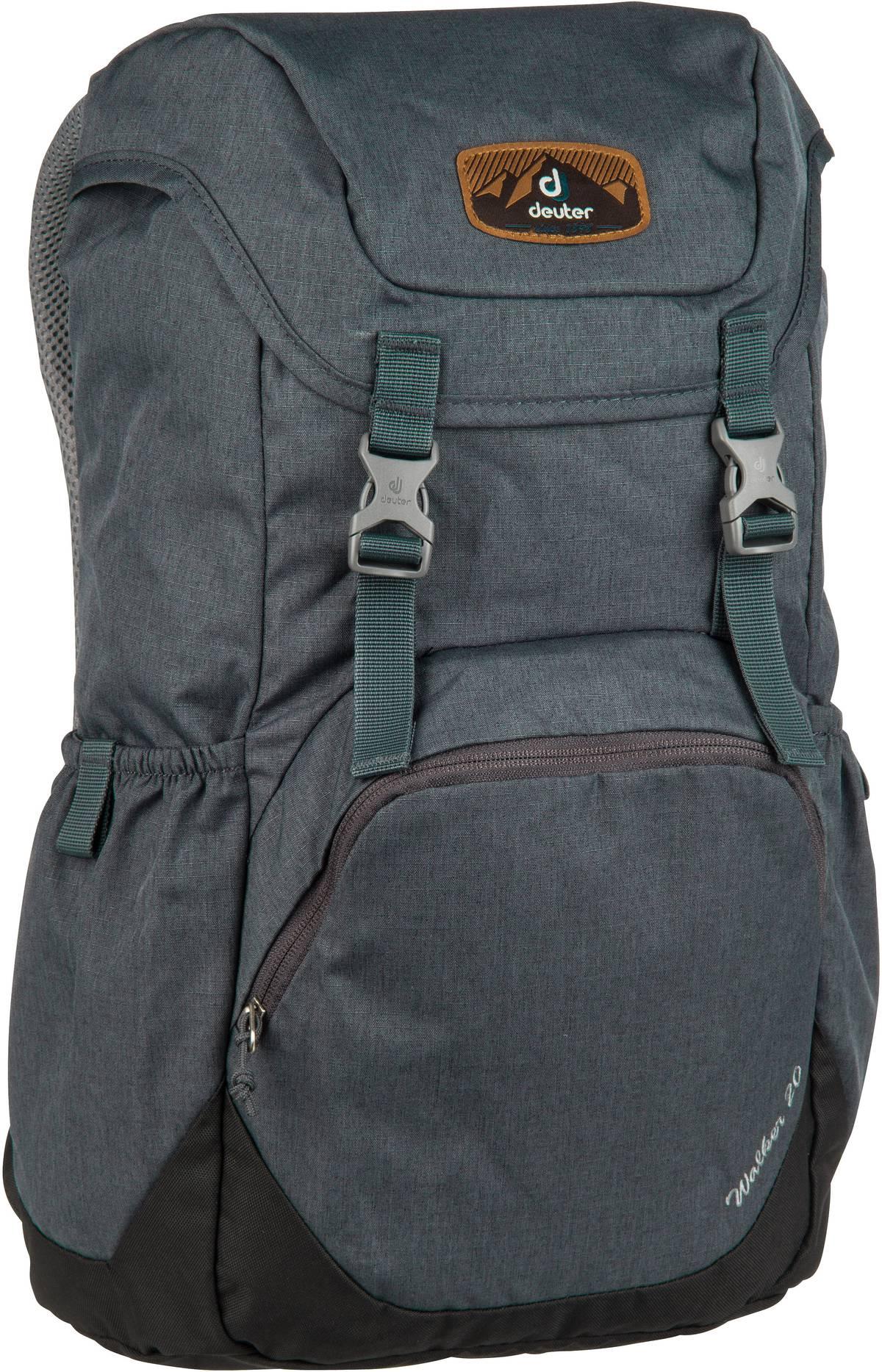 Rucksack / Daypack Walker 20 Graphite/Black (20 Liter)