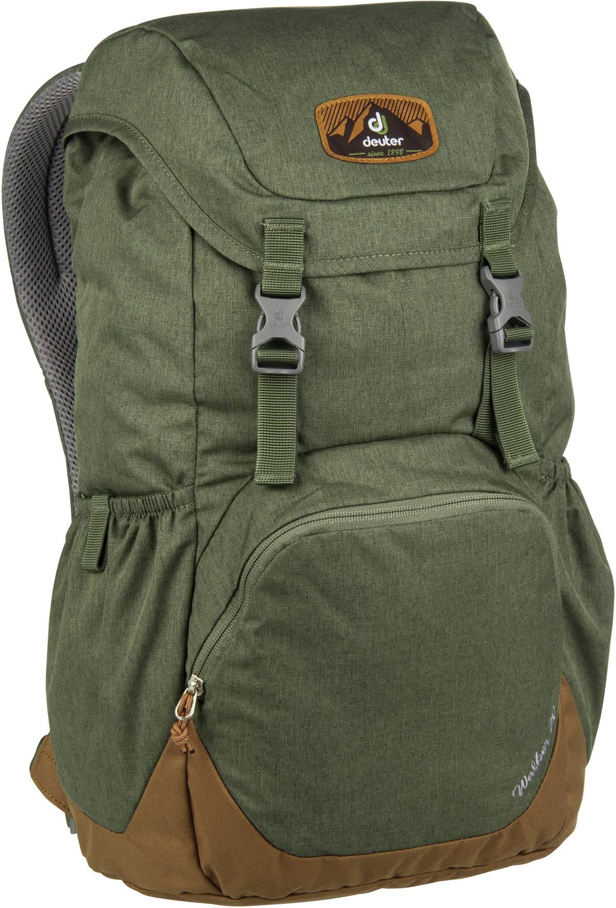 Rucksack / Daypack Walker 20 Khaki/Lion (20 Liter)
