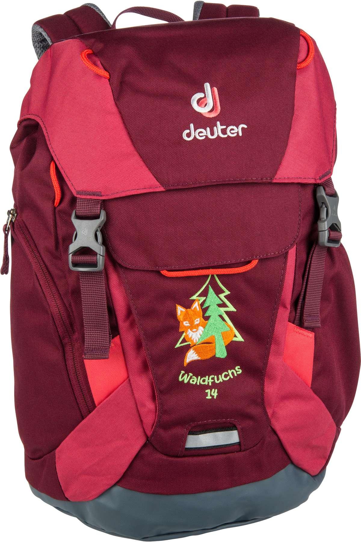 Rucksack / Daypack Waldfuchs 14 Maron/Cardinal (14 Liter)