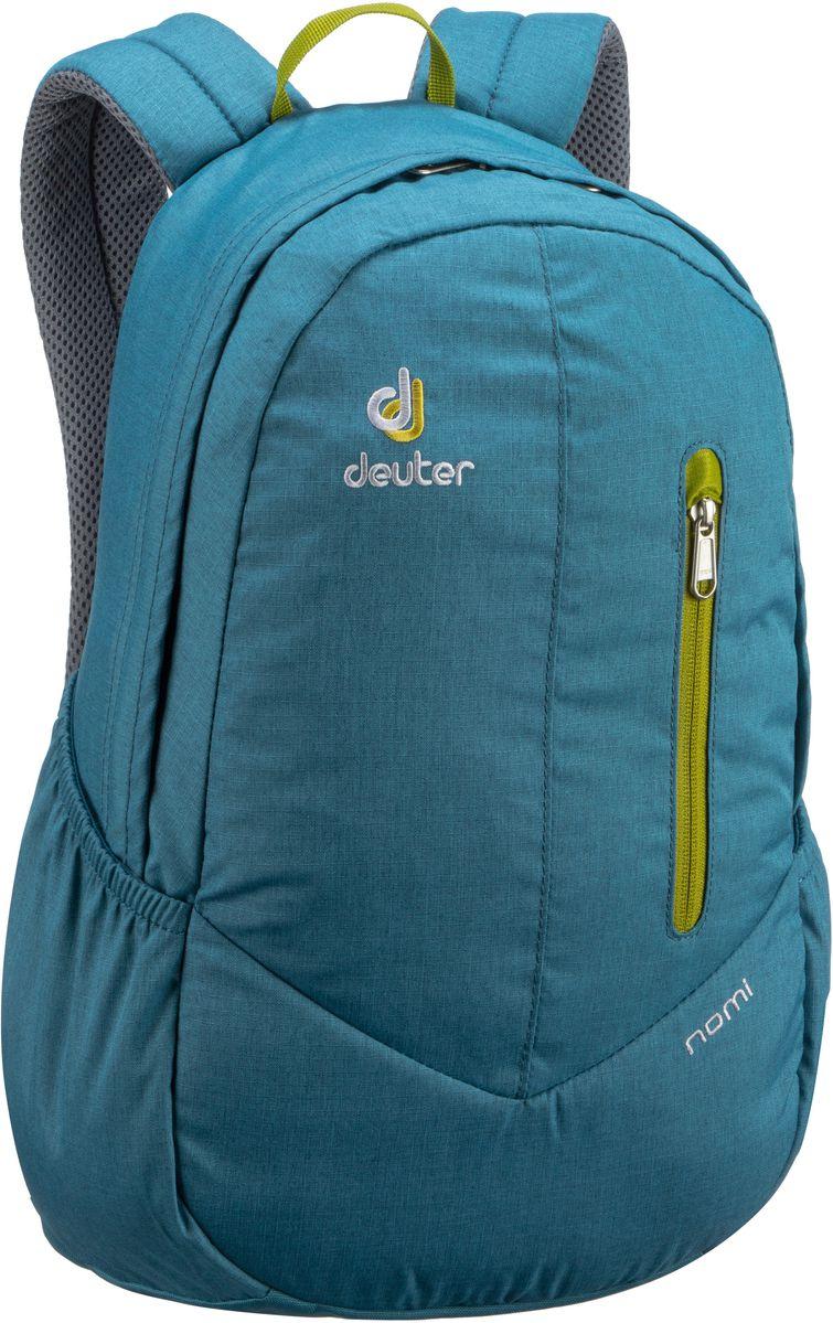 Rucksaecke für Frauen - Deuter Rucksack Daypack Nomi II Denim Moss (16 Liter)  - Onlineshop Taschenkaufhaus