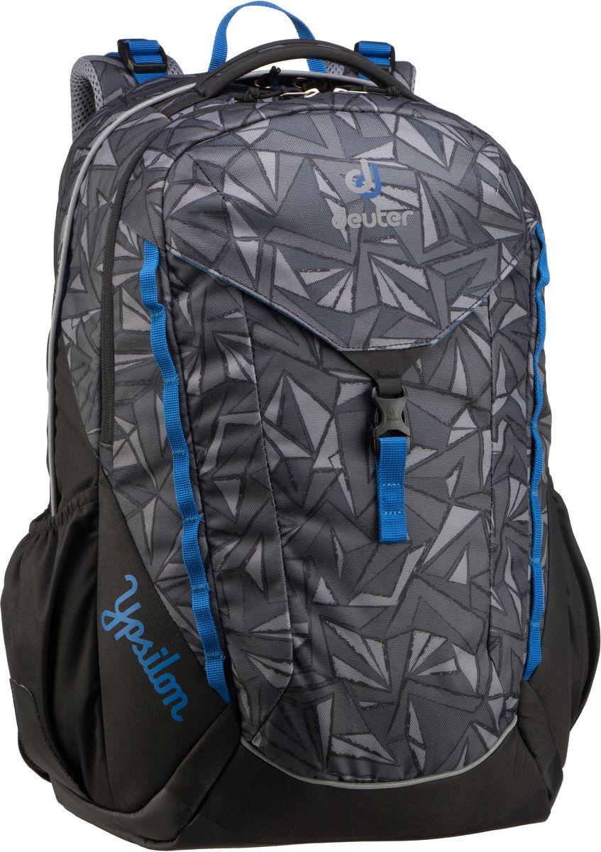 Rucksack / Daypack Ypsilon Black Zigzag (innen: Blau) (28 Liter)