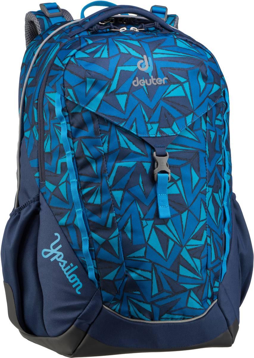 Rucksack / Daypack Ypsilon Midnight Zigzag (innen: Blau) (28 Liter)