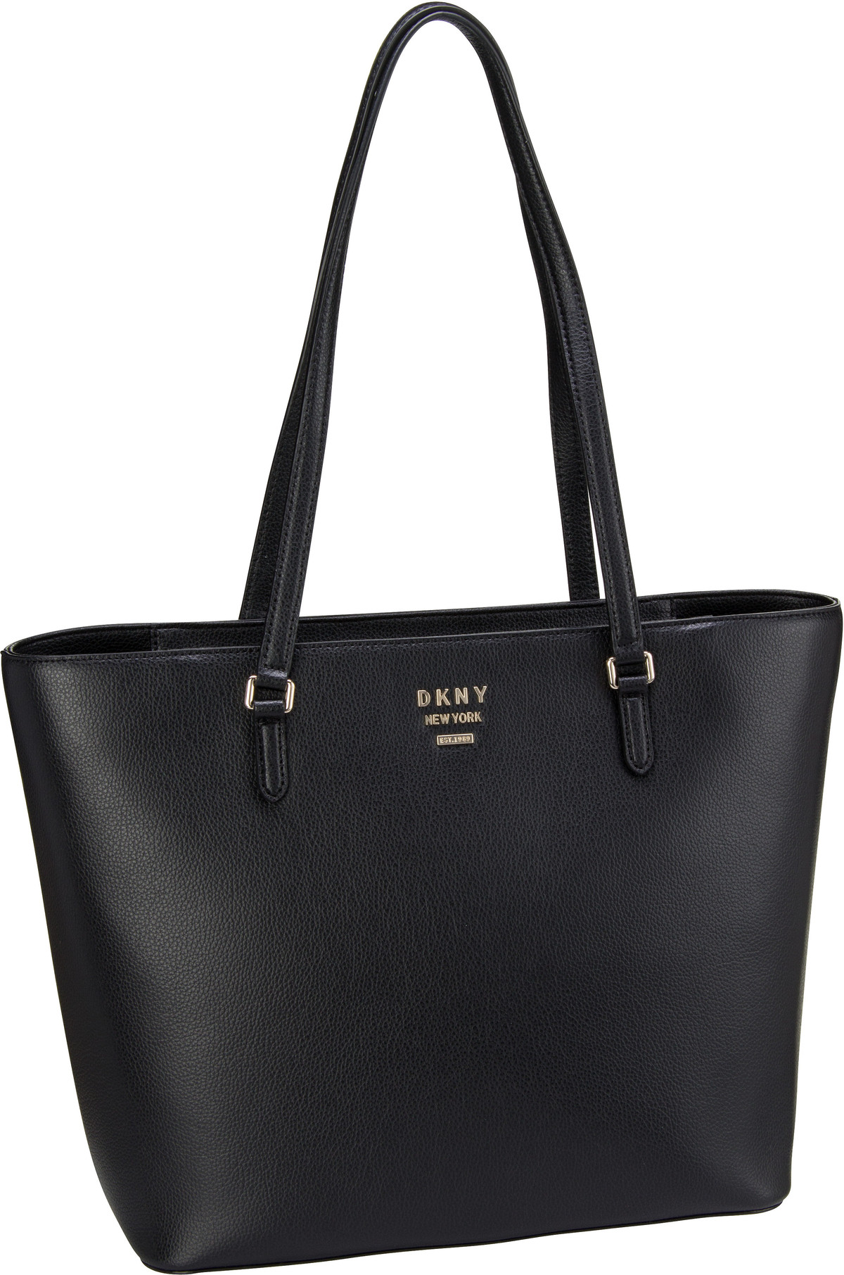 Shopper Whitney Pebble Large Tote Black/Gold