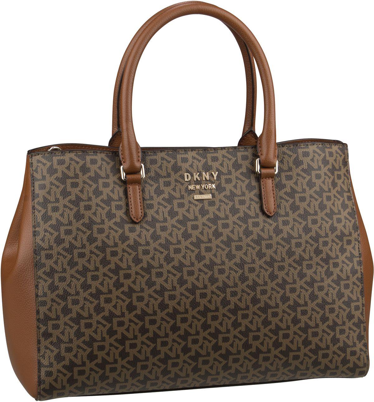 Handtasche Whitney Logo Work Tote Bark/Caramel