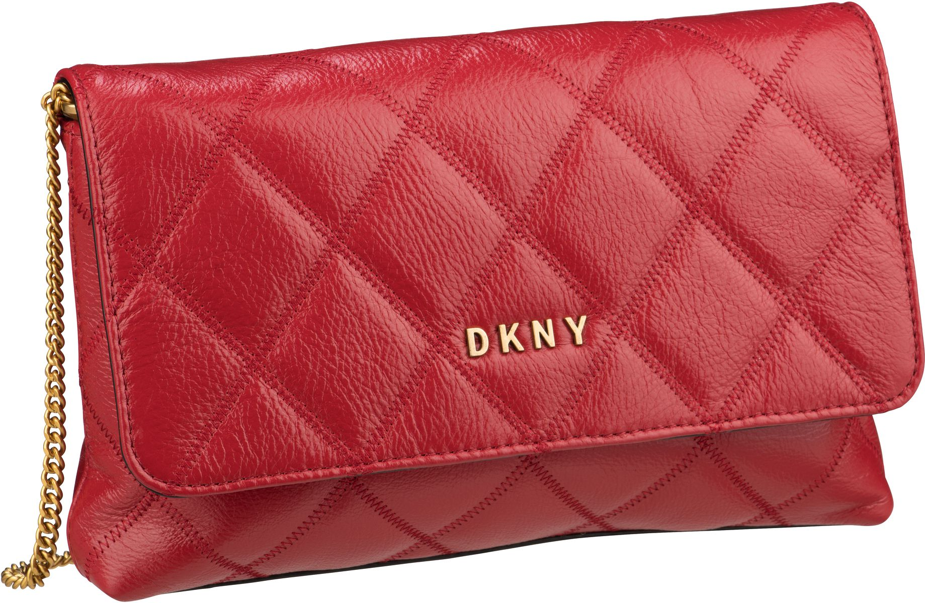 Umhängetasche Sofia Diamond Stitch Clutch Crossbody Bright Red