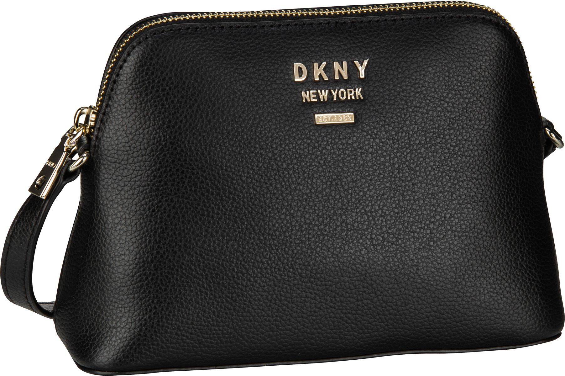 Umhängetasche Whitney Dome Crossbody Black/Gold