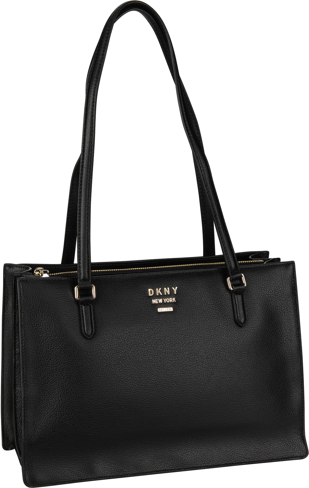 Handtasche Whitney Large Center Zip Tote Black/Gold