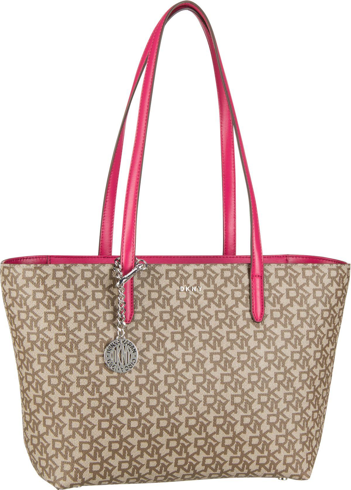 Handtasche Bryant Medium Zip Tote Chino/Electric Pink