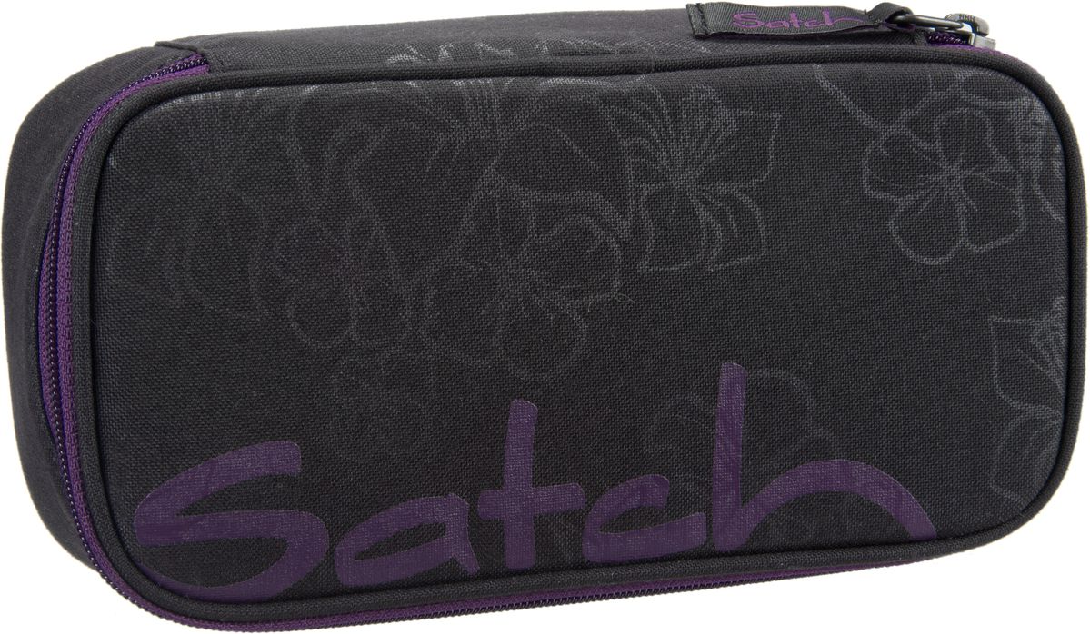 satch satch Schlamperbox Purple Hibiskus - Stiftetui