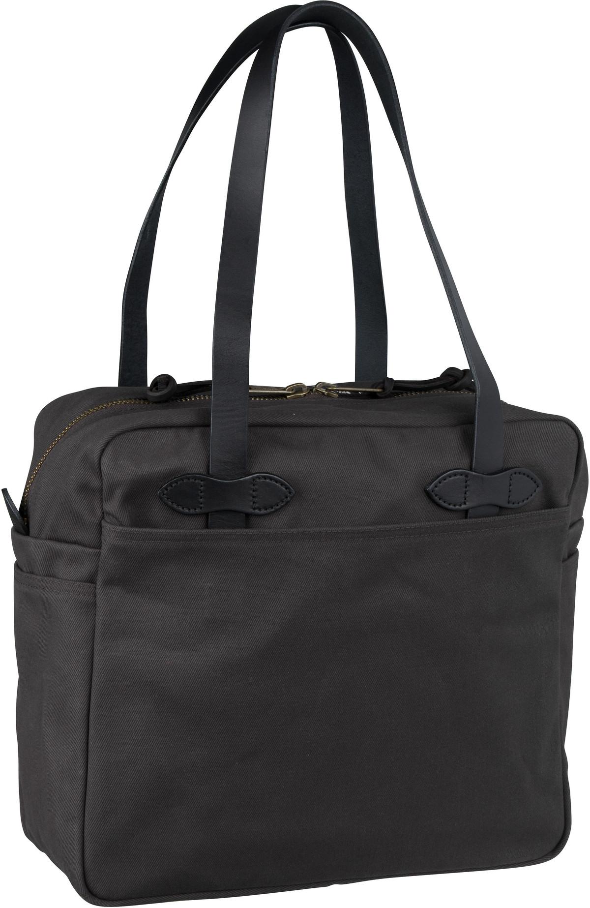 Filson Handtasche Tote Bag with Zipper Cinder (25 Liter)