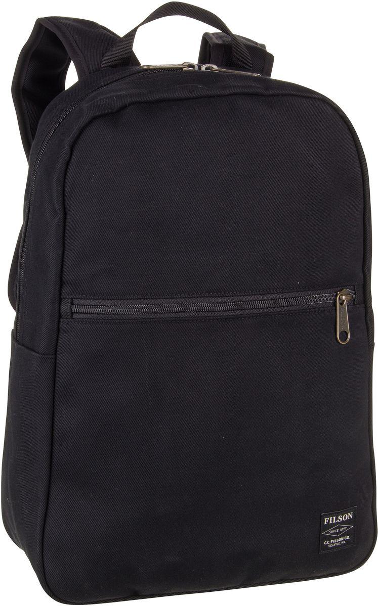Filson Rucksack / Daypack Bandera Backpack Black (22 Liter)
