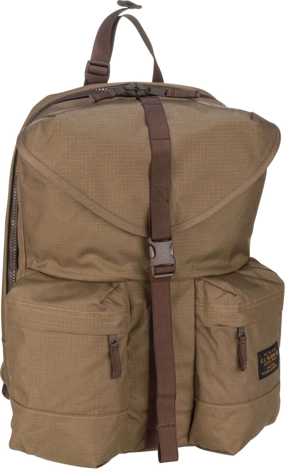 filson -  Laptoprucksack Ripstop Nylon Backpack Field Tan (35 Liter)