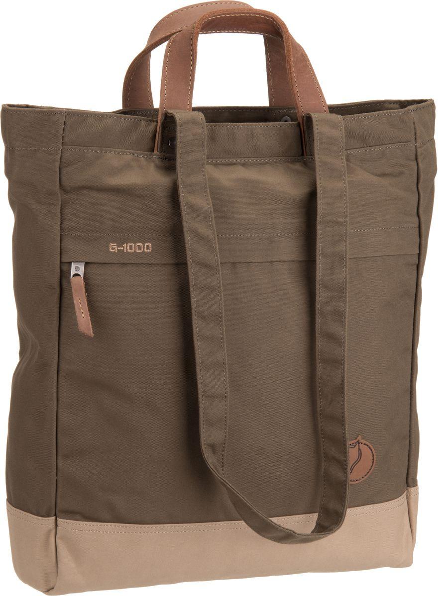 Handtaschen für Frauen - Fjällräven Handtasche Totepack No. 1 Khaki Sand (14 Liter)  - Onlineshop Taschenkaufhaus