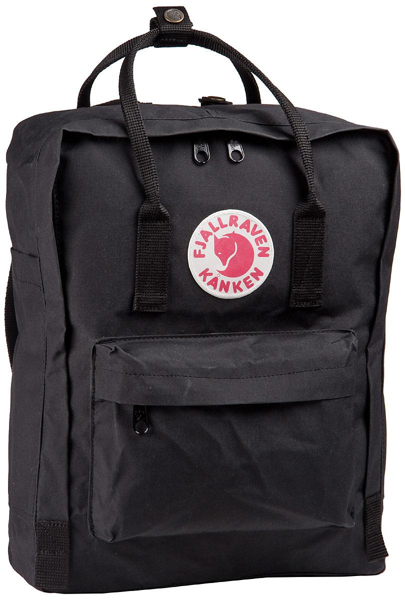 Rucksack / Daypack Kanken Black (16 Liter)