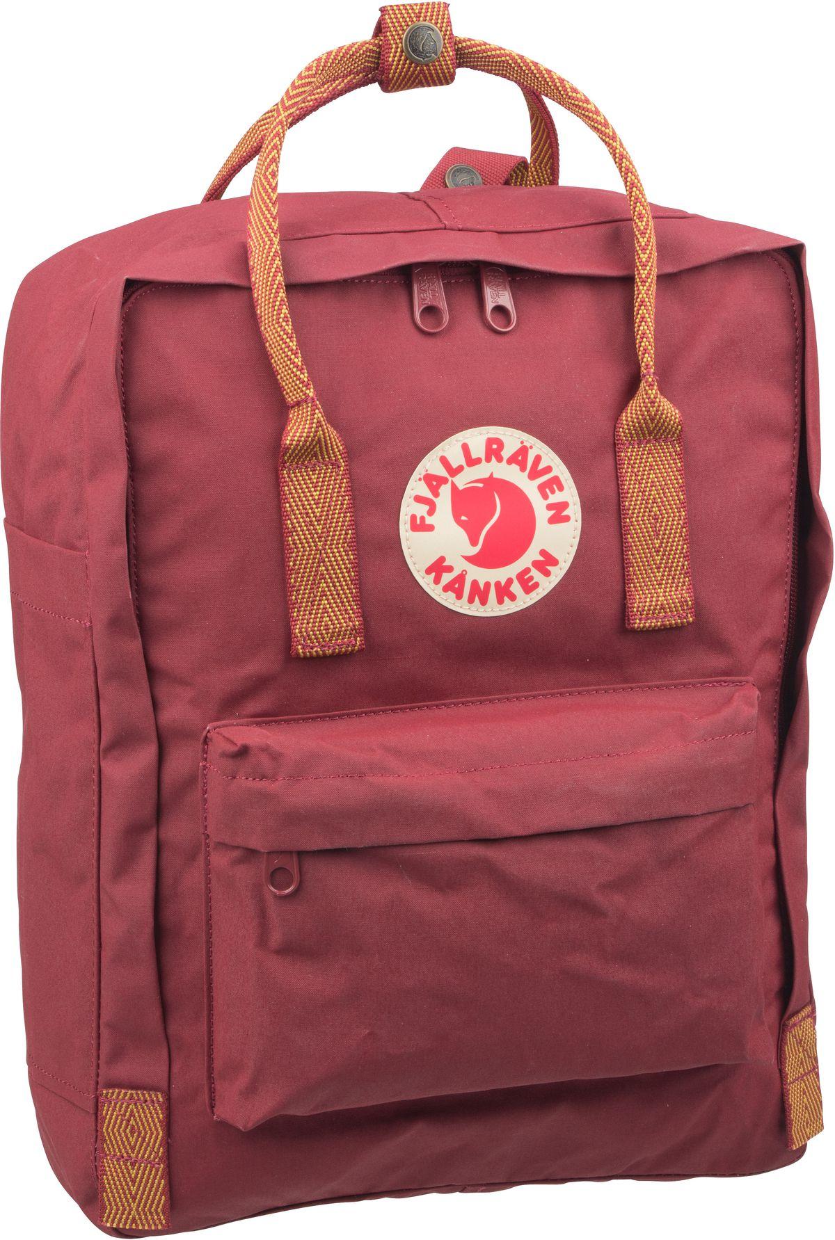 Rucksack / Daypack Kanken Ox Red/Goose Eye (16 Liter)