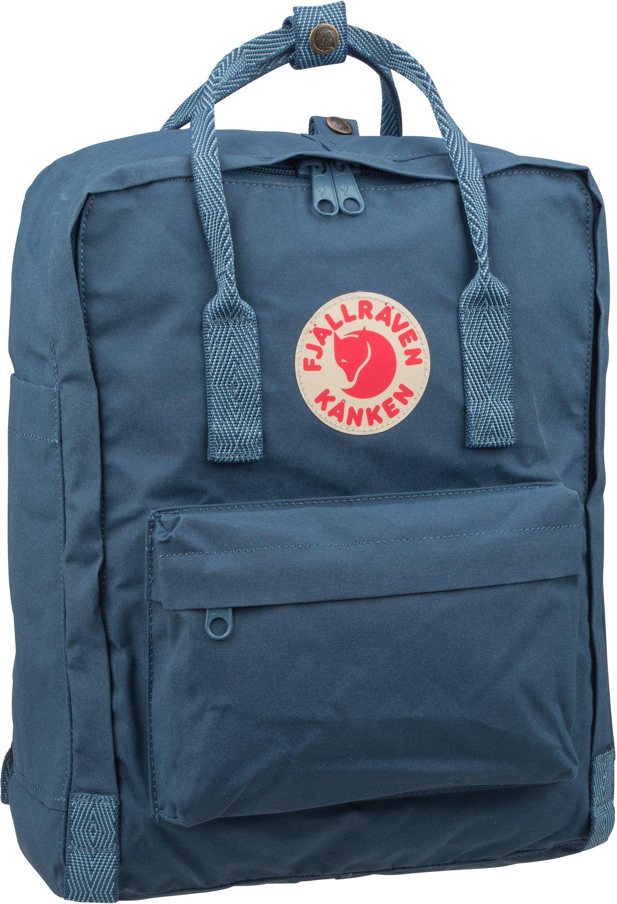 Rucksack / Daypack Kanken Royal Blue/Goose Eye (16 Liter)