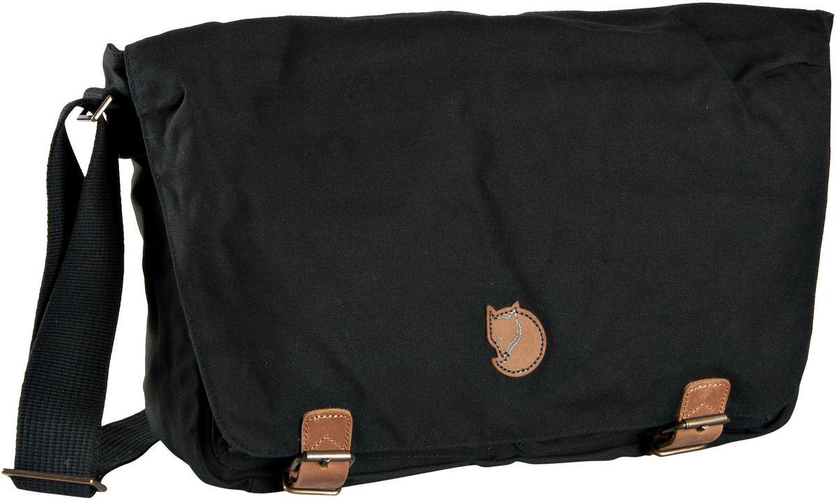 Fjällräven Övik Shoulder Bag Black - Umhängetasche