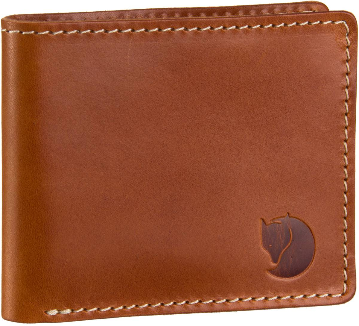 Fjällräven Övik Wallet Leather Cognac - Briefta...