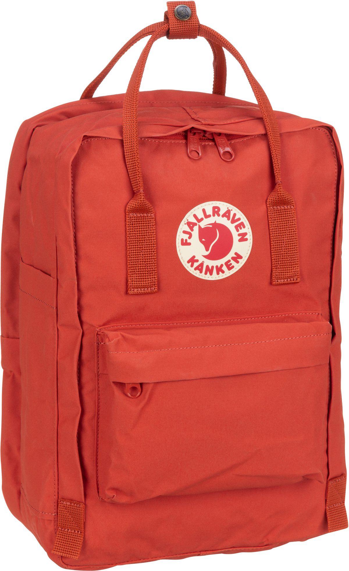 Laptoprucksack Kanken Laptop 15'' Rowan Red (18 Liter)