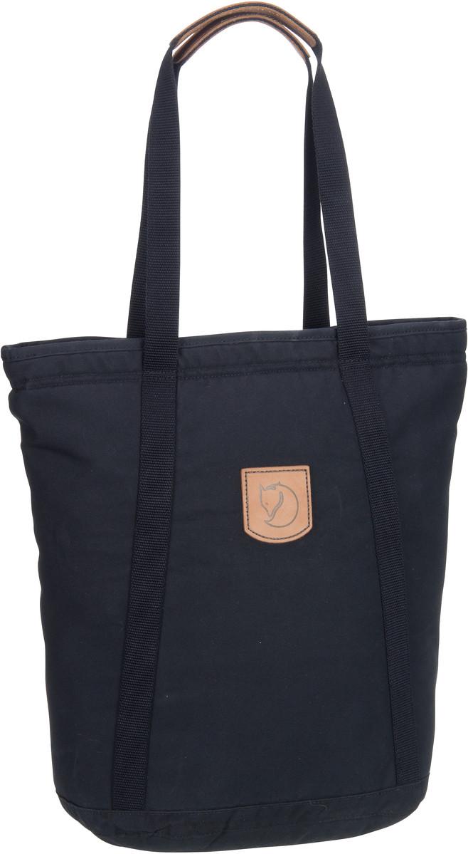Handtasche Totepack No.4 Tall Black (19 Liter)