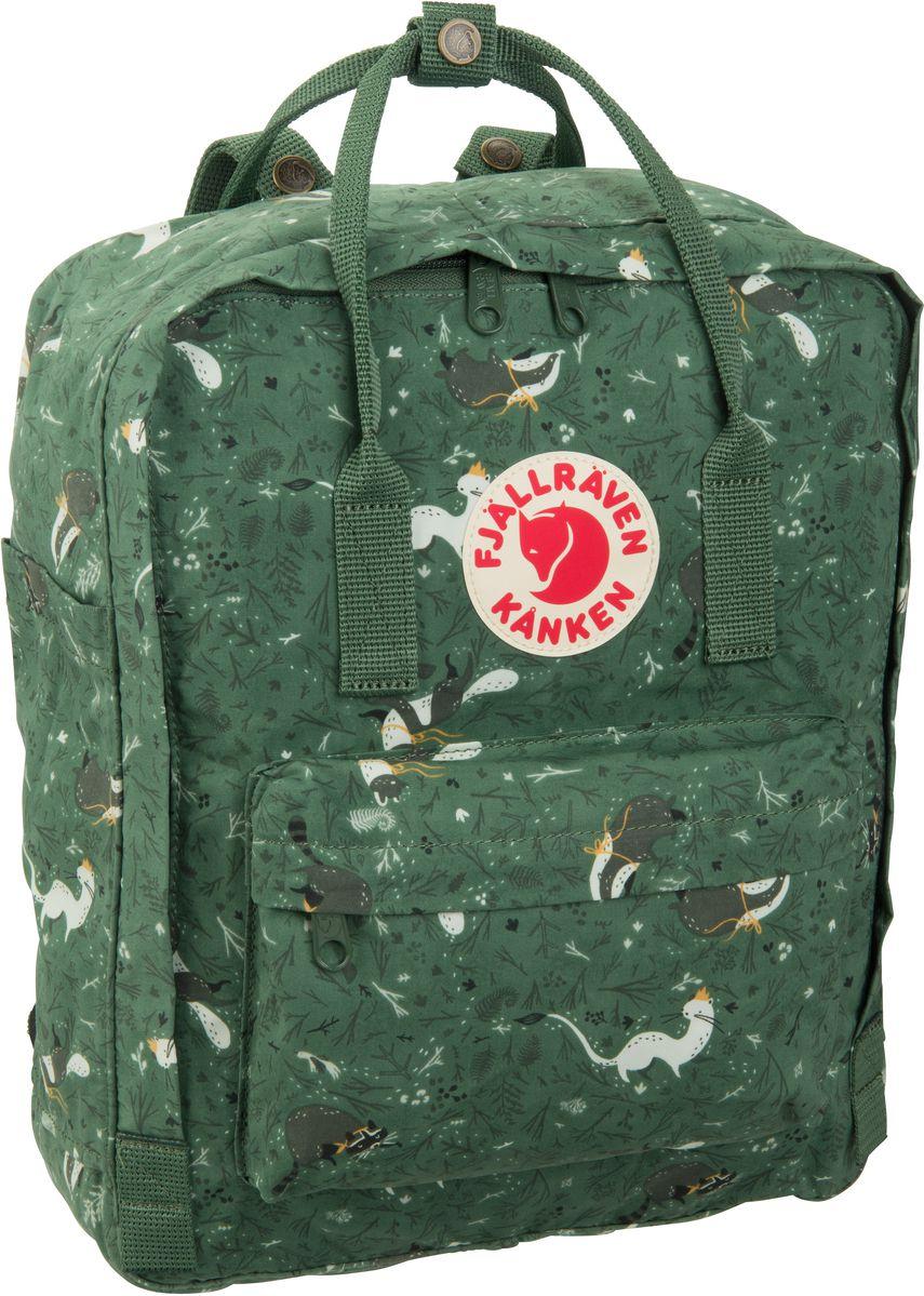 Rucksack / Daypack Kanken Art Green Fable (16 Liter)