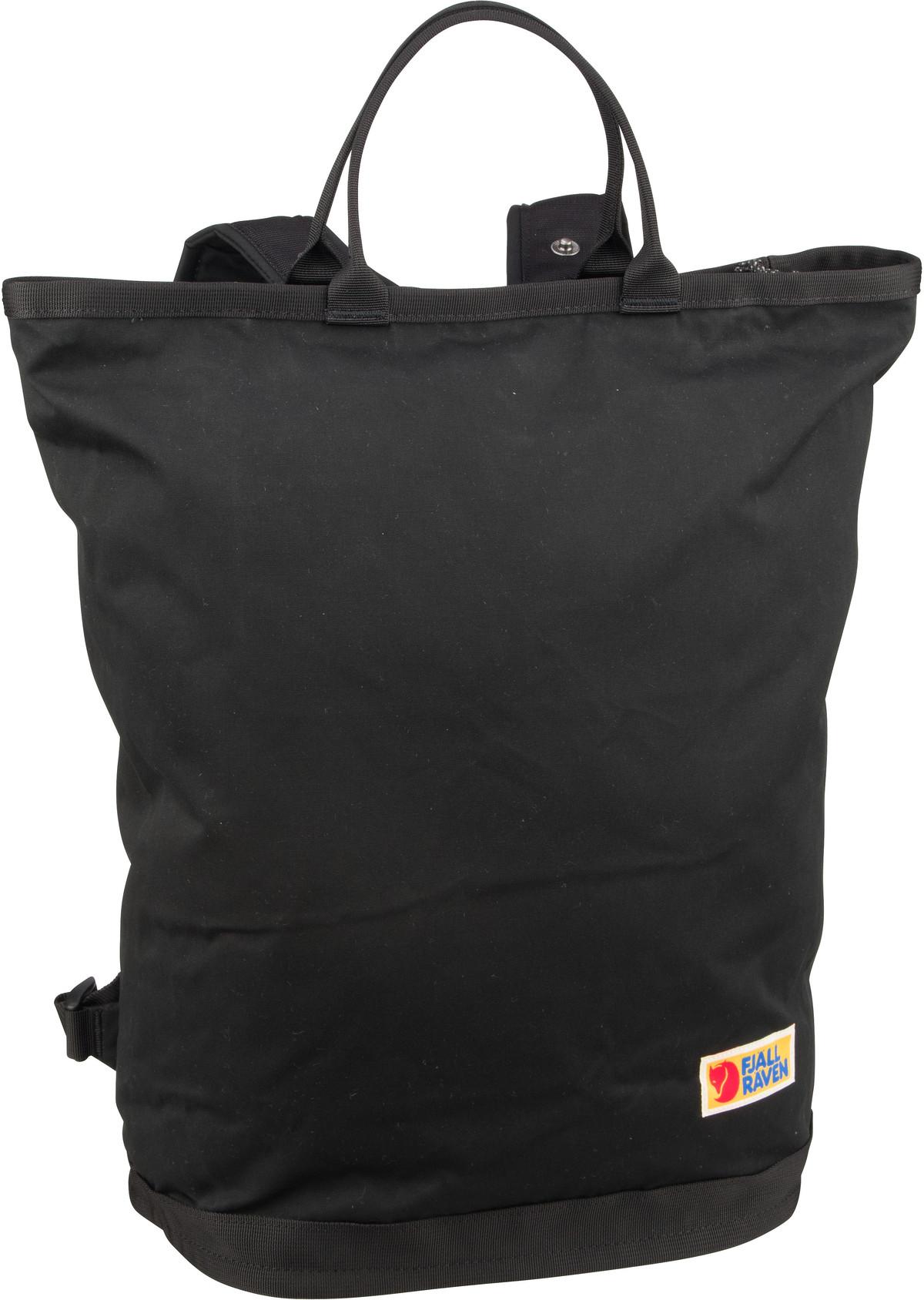Rucksack / Daypack Vardag Totepack Black (20 Liter)