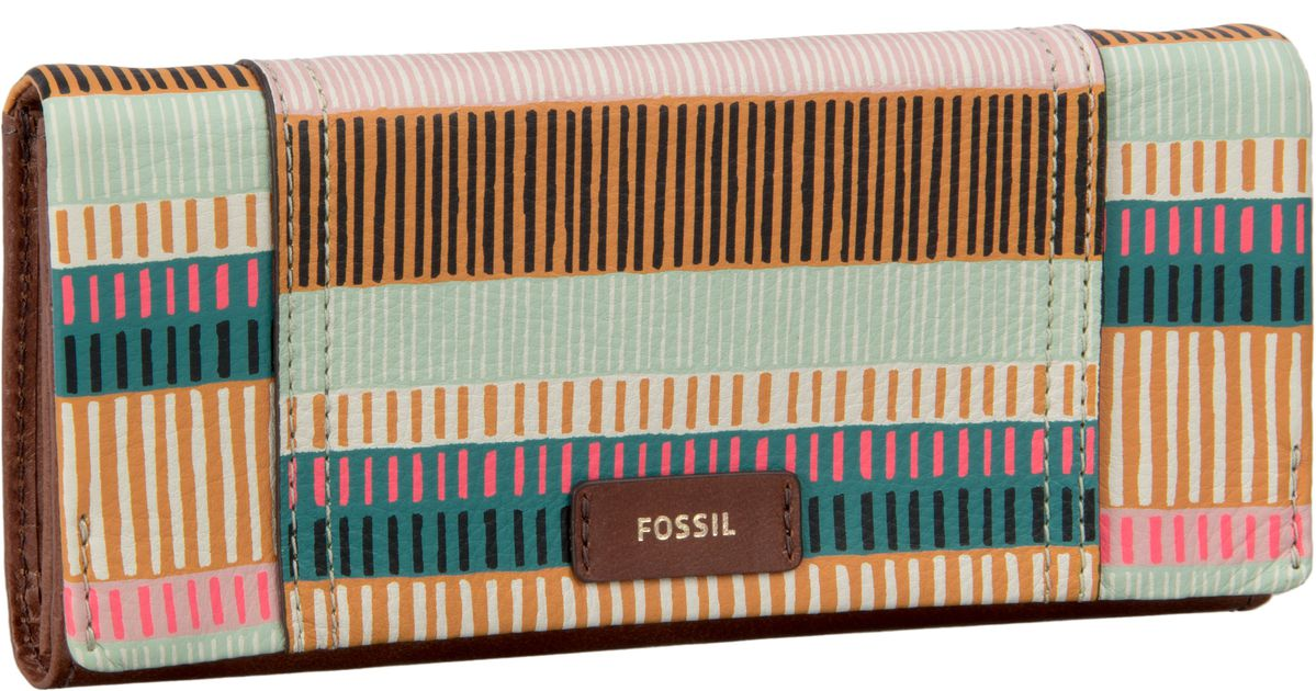 Schipkau Annahütte Angebote Fossil Ellis 29 Clutch Colorful Stripes - Kellnerbörse