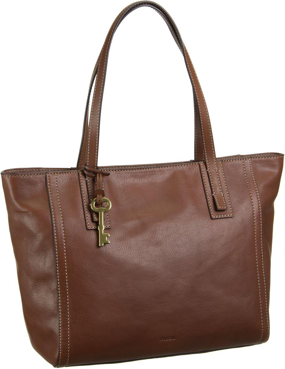 Fossil Emma Tote Brown - Handtasche