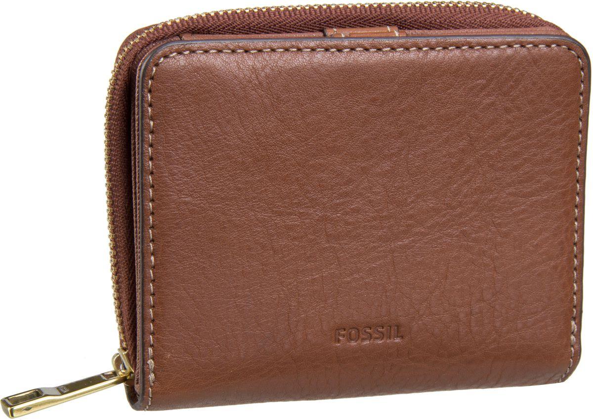 Geldboersen für Frauen - Fossil Emma RFID Mini Multifunction Brown Geldbörse  - Onlineshop Taschenkaufhaus