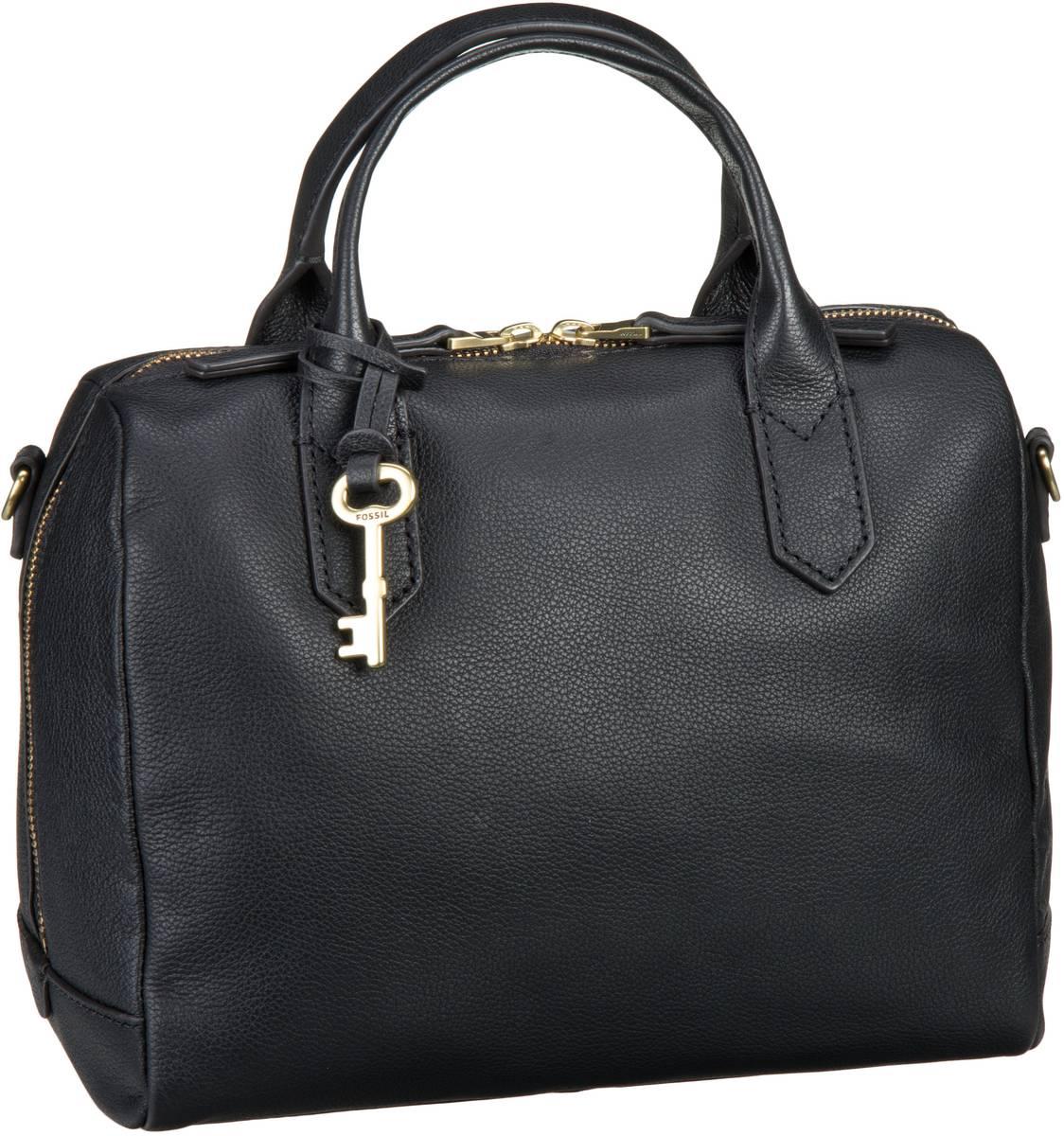 Handtaschen für Frauen - Fossil Handtasche Fiona Satchel Black  - Onlineshop Taschenkaufhaus