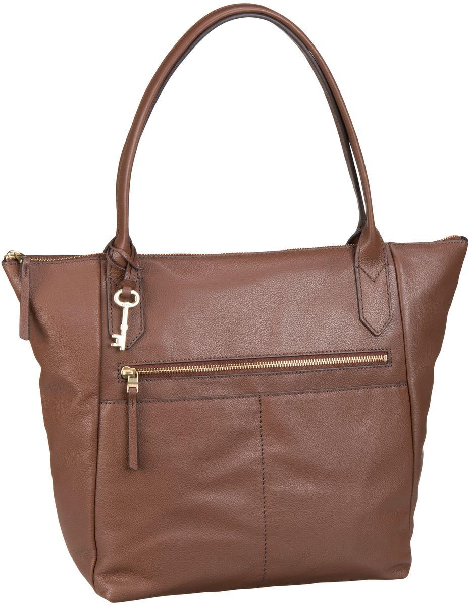 Guteborn Angebote Fossil Fiona Tote Medium Brown - Handtasche