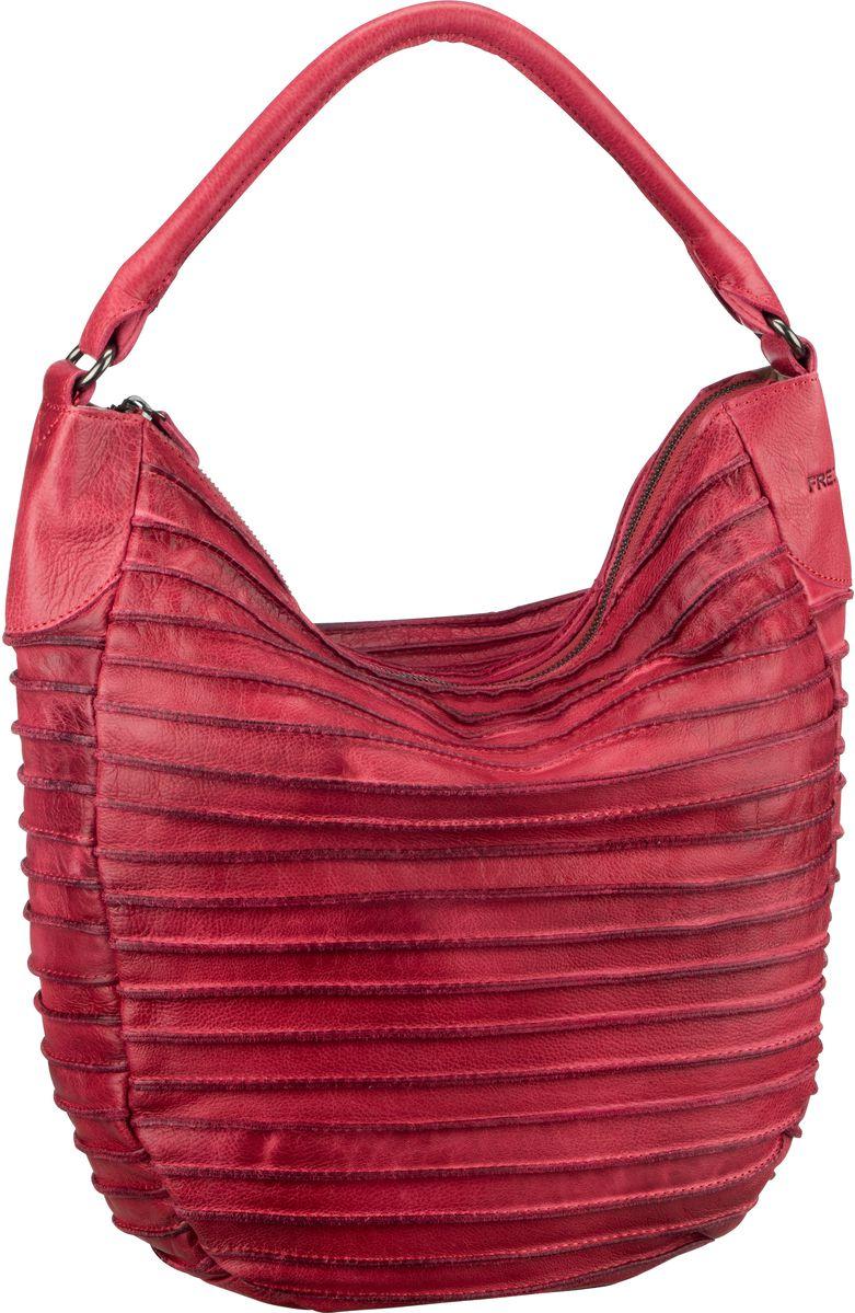 Handtasche Riffeltier S Flamingo Red