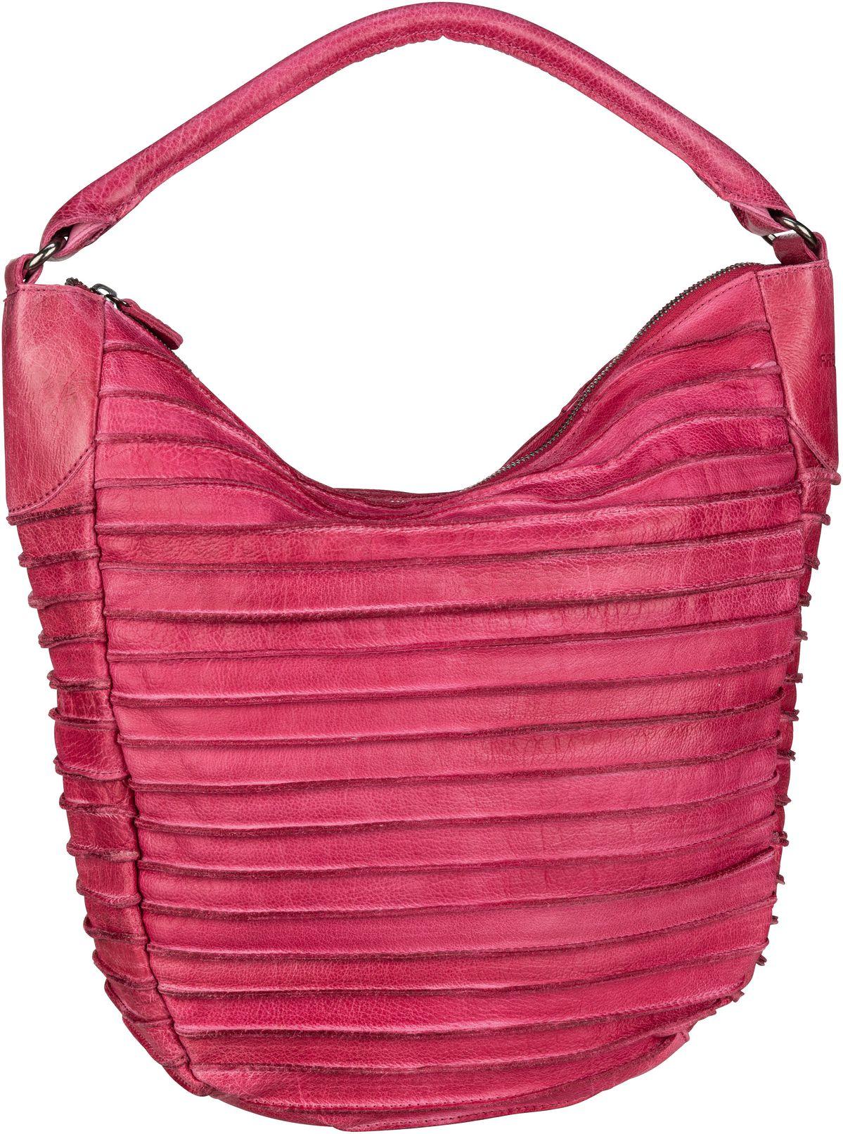 Handtasche Riffeltier S Pink