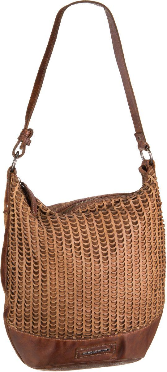 Handtaschen für Frauen - Fredsbruder Handtasche Smiling Fish Forever Oak Buff  - Onlineshop Taschenkaufhaus
