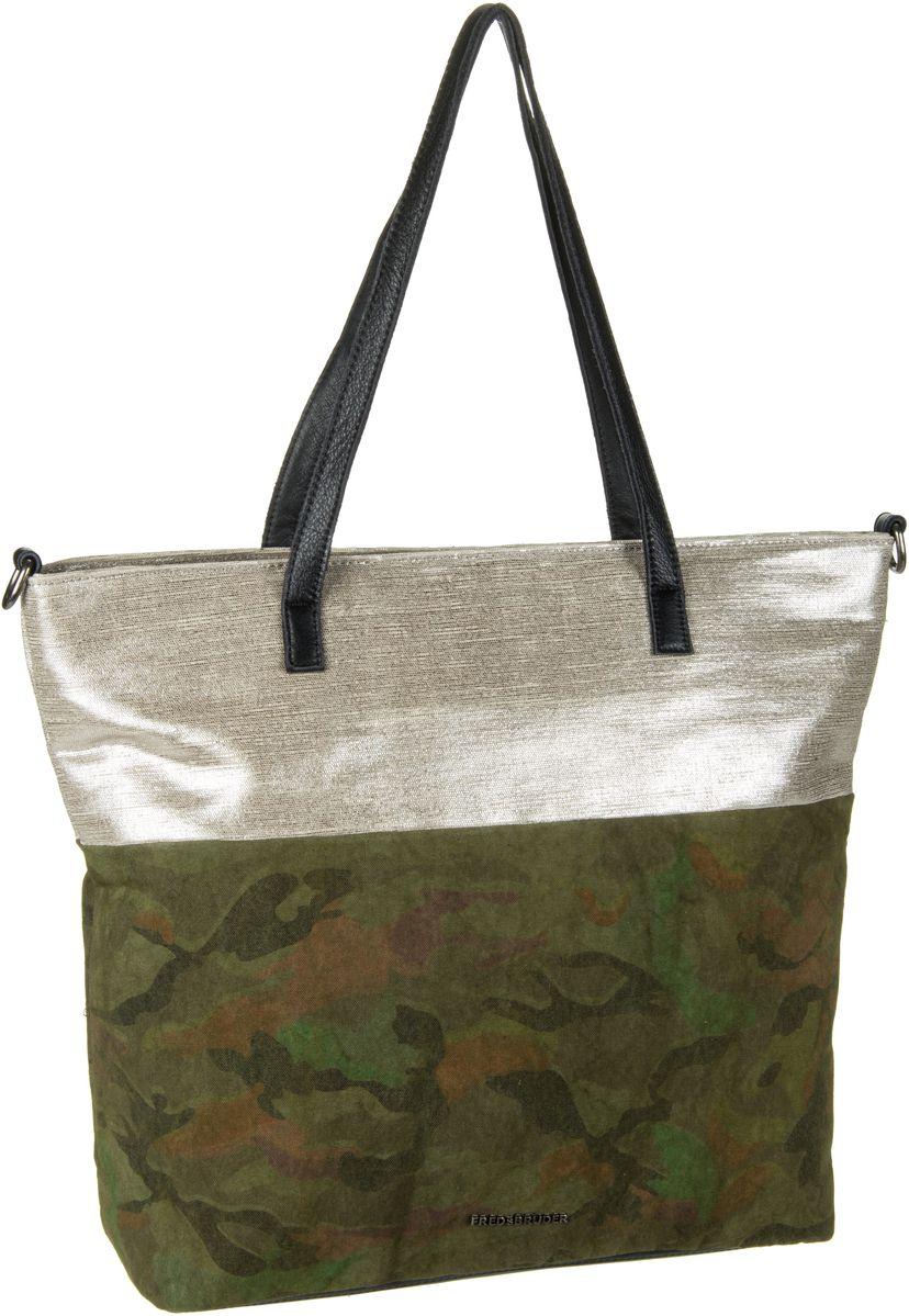 Handtasche My Way Camouflage Green