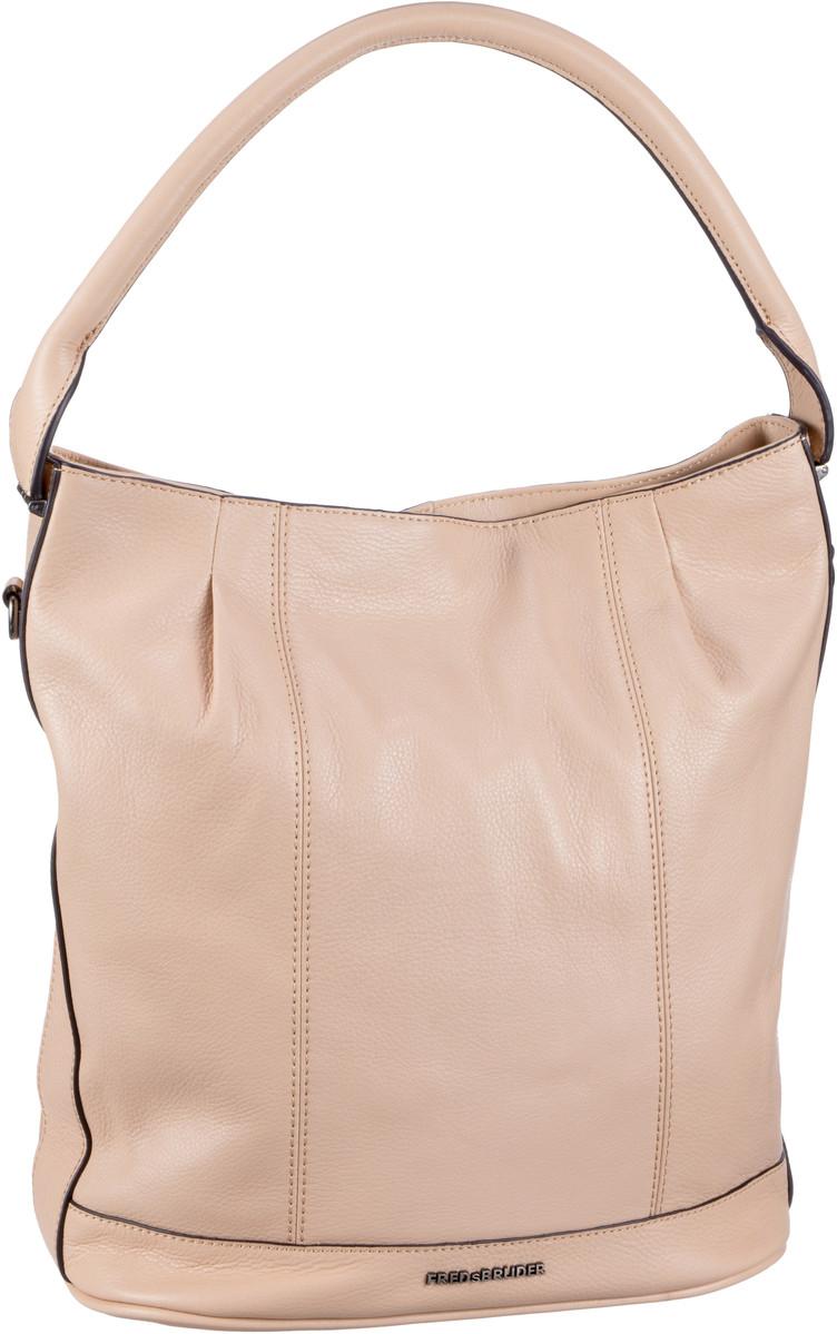 Handtasche Flaps Hobo Tan
