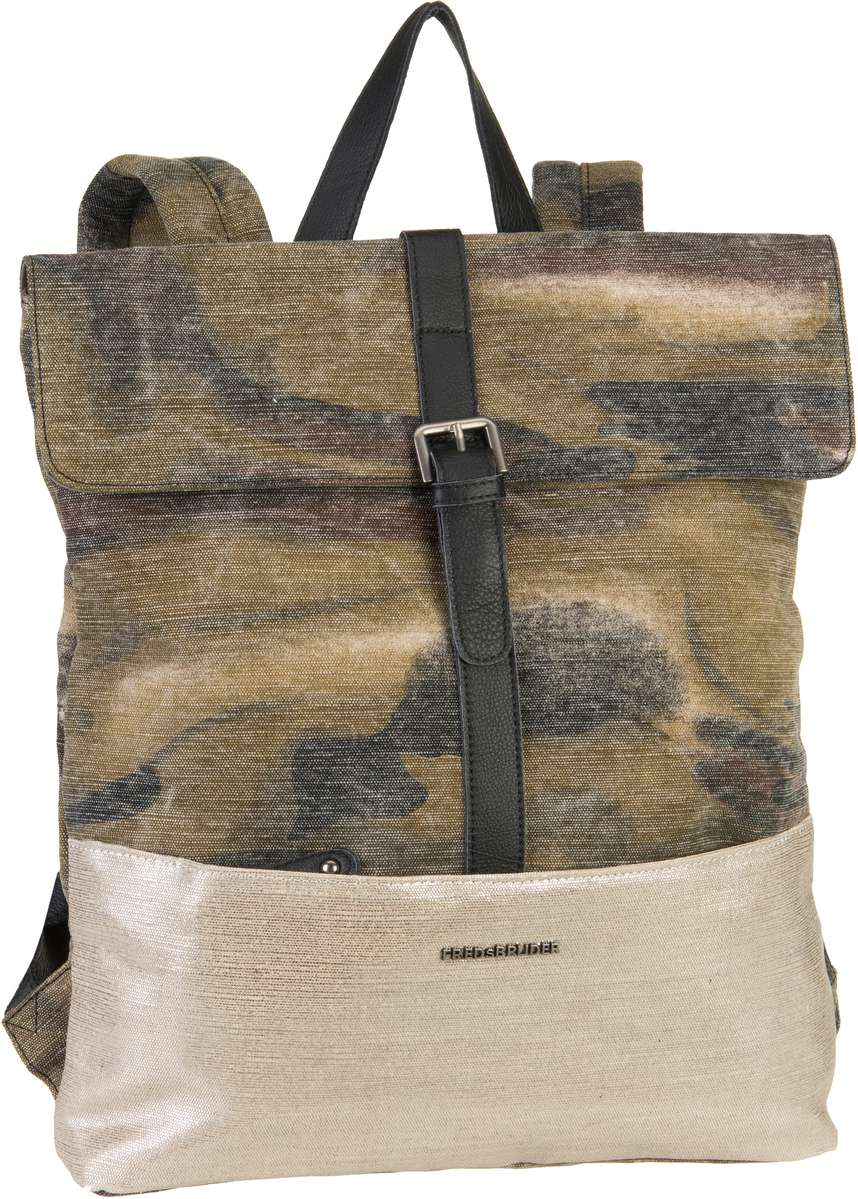 Rucksack / Daypack Roll Me! Camouflage Khaki