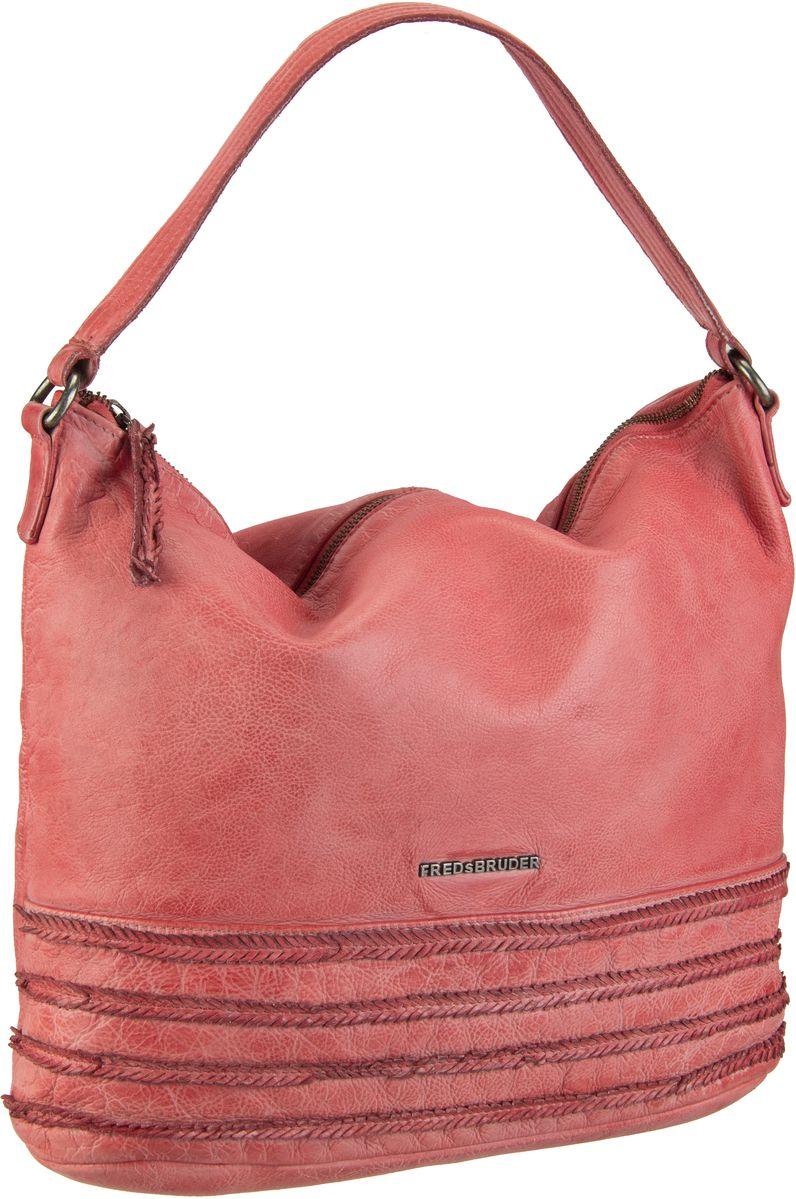 Handtaschen für Frauen - Fredsbruder Handtasche Branch Flamingo Red  - Onlineshop Taschenkaufhaus