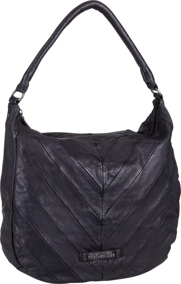 Fredsbruder Handtasche Quad Black