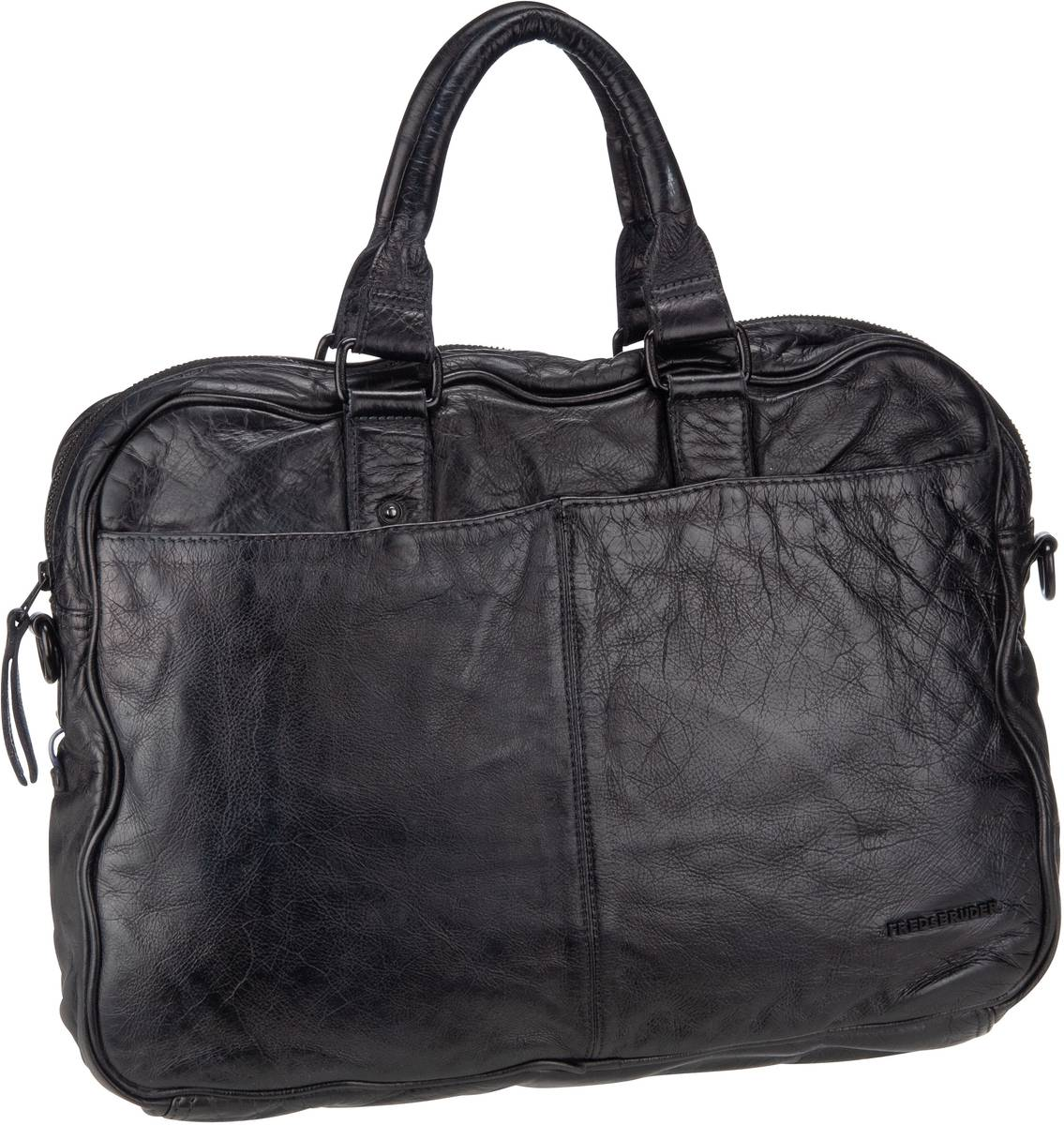 Businesstaschen für Frauen - Fredsbruder Aktentasche Fraternity Black  - Onlineshop Taschenkaufhaus