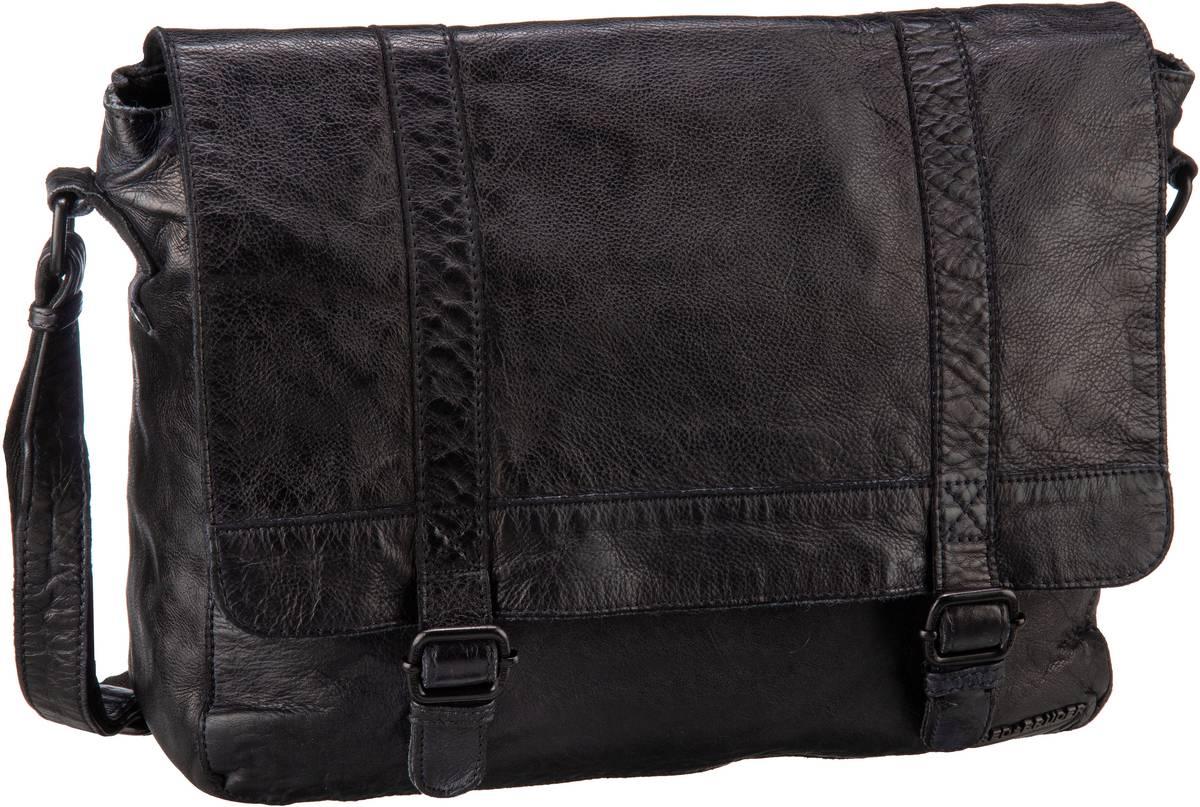 Schultertaschen für Frauen - Fredsbruder Umhängetasche Lab Black  - Onlineshop Taschenkaufhaus