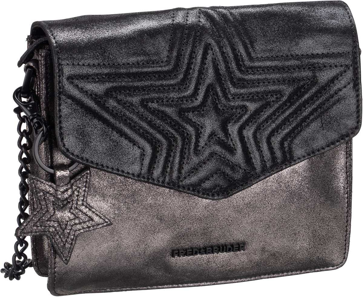 Handtasche Tucana Metallic Black/Steel