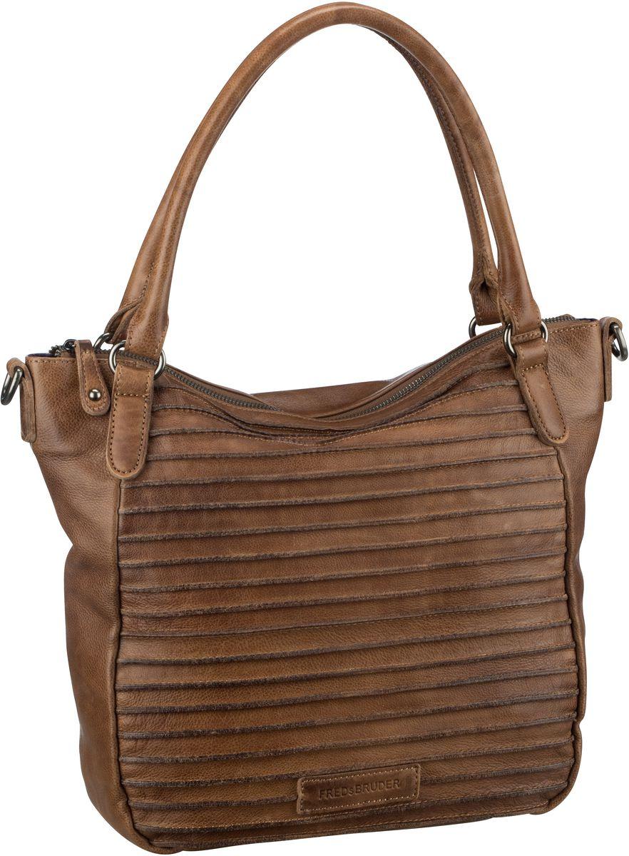Handtasche Riffelherzchen Cinnamon