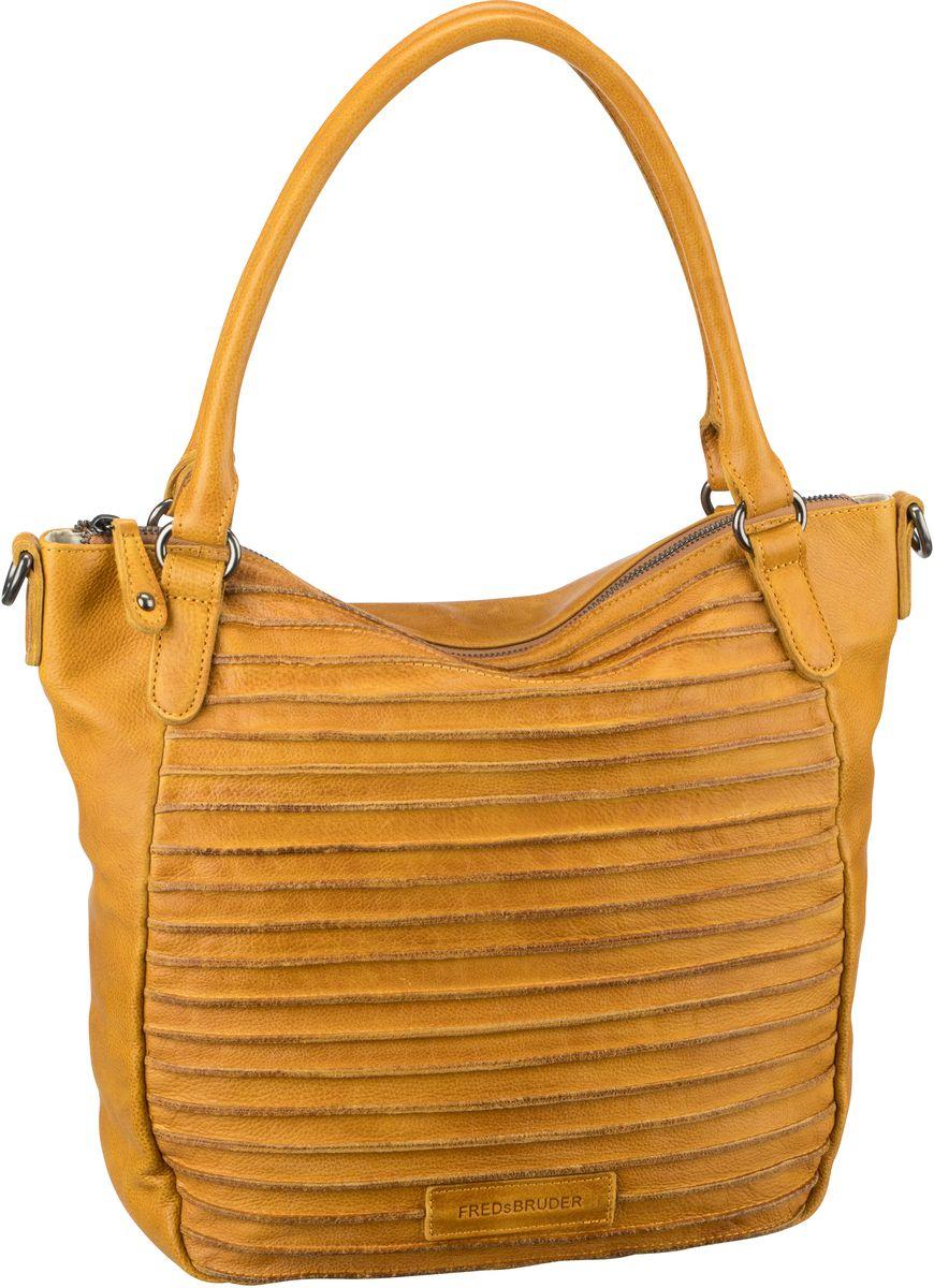 Handtasche Riffelherzchen Deep Yellow