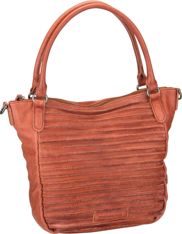 Handtasche Riffelherzchen Rustic Orange