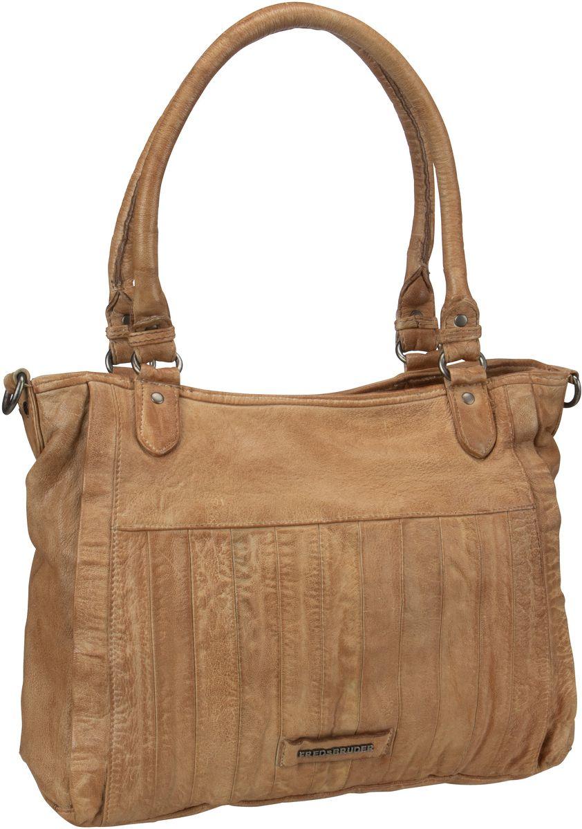 Handtasche Classic Century Dark Camel