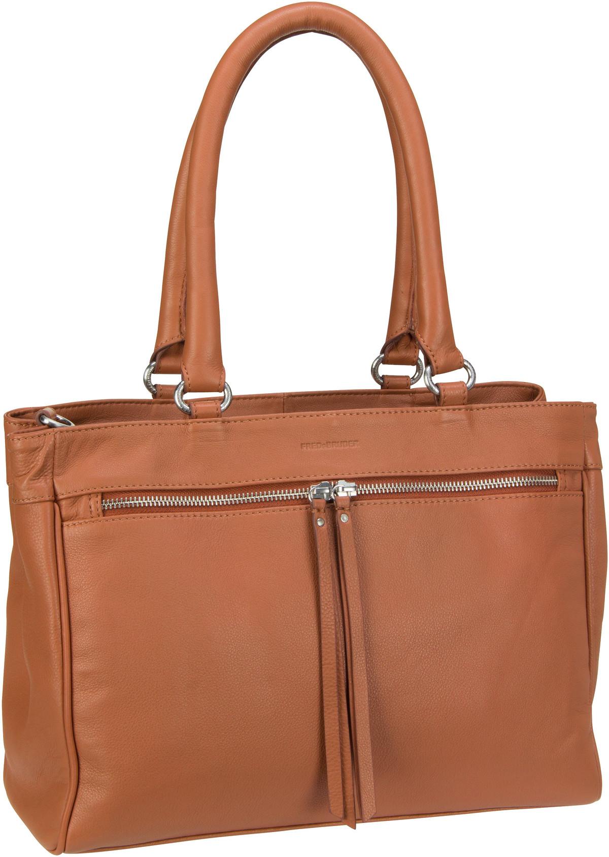 Handtasche Take It Easy Dark Camel