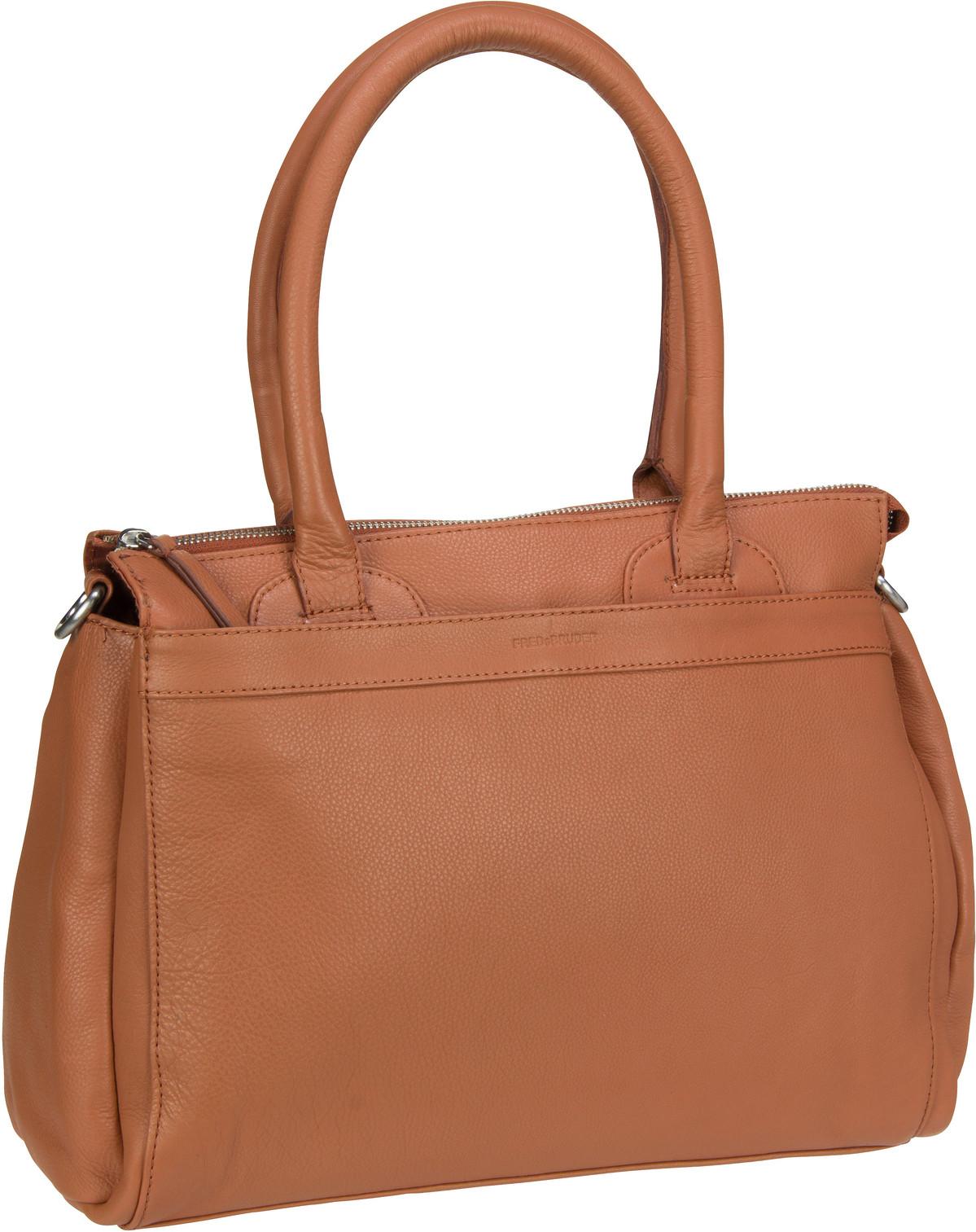 Handtasche Leen Dark Camel